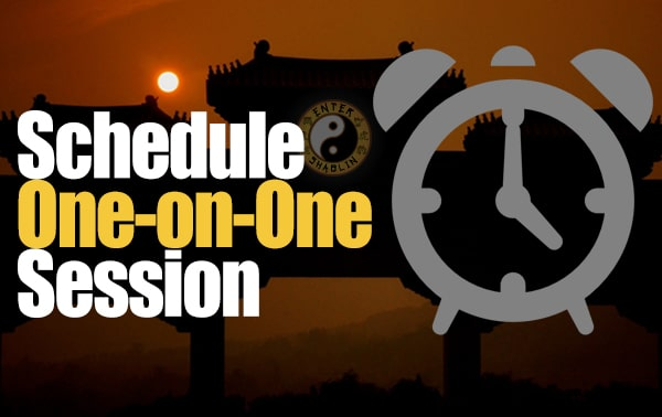 Schedule your one-on-one session with Enter Shaolin